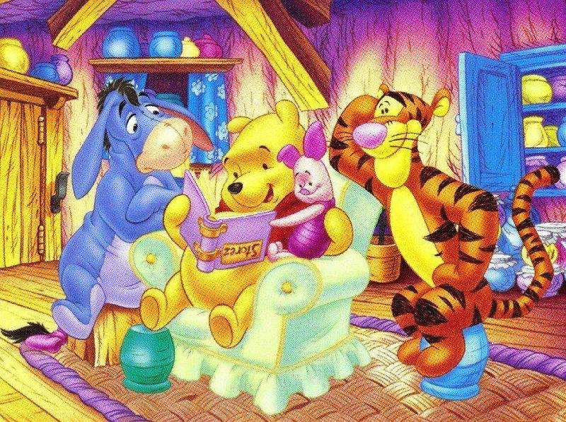 Eik thi rani where kids explore read and imagine stories - Winnie the pooh and friends wallpaper ...